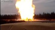 Ужасяващи звуци от горенето на барут