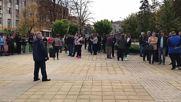 Протест в Лясковец
