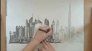 Рисуване на Дубай