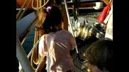 Радо на фрегата Америко Веспучи 08.2009