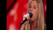 Много красиво момиче плени журито с гласа си !! X - Factor - U S !!