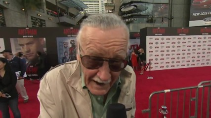 Stan Lee Talks About Creating 'Ant-Man' At Premiere