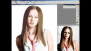 Рисуване На Аврил В Photoshop