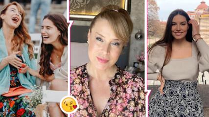 Като сестри: Мира Добрева и прекрасната ѝ дъщеря Лора