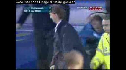 Uefa Cup Portsmouth - Milan 2 - 2 Inzaghi