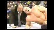 Bill Goldberg прeбива Brock Lesnar