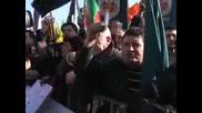 """Хиляди на протест срещу кабинета """"Станишев"""""""