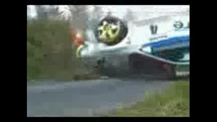 Wrc - много лоши катастрофи!!