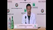 Roland Garros 2009 : Интервю със Сьодерлинг след полуфинала