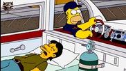 The Simpsons S15e10 - Хоумър си взима линейка бг аудио