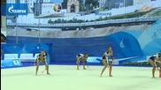 Бронзов медал за България на бухалки - Световна купа Казан 2014
