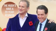 Hugh Grant & Hugh Bonneville reunite in Paddington 2