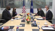 Belgium: NATO chief Stoltenberg, US Defense Secretary Austin hold talks in Brussels