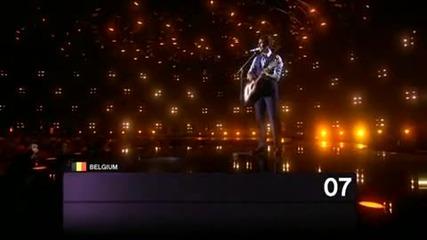 Шесто място на Евровизия 2010 - Белгия - Tom Dice - Me And My Guitar • belgium eurovision 2010 tom