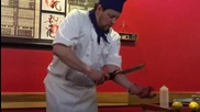 Трик на илюзиониста Анди Грос като готвач