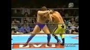 William Regal vs. Wild Pegasus ( Крис Беноа ) - New Japan Pro Wrestling 23.09.95