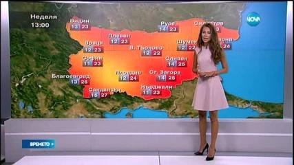 Прогноза за времето (12.09.2015 - централна)