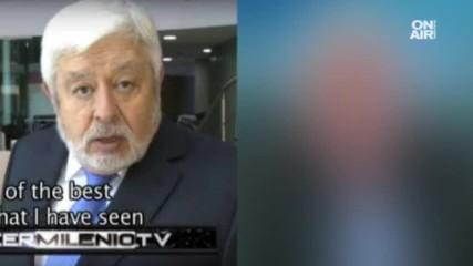 Кой е двойникът на мексиканския журналист Хайме Малсан ?