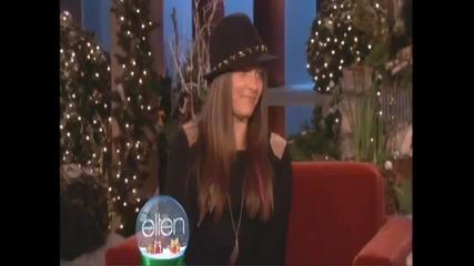 Paris Jackson The Ellen Show