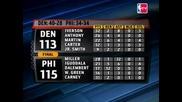 Allen Iverson Се Завърна Във Филаделфия! (Откъс От Мача + Статистика)