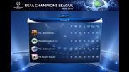 Шампионска лига 2010 - 2011 Групи