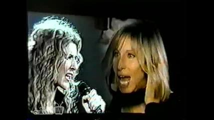 /превод/ Celine Dion & Barbara Streisand - Tell him /на живо/