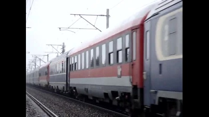 Delfinul 47-692-5 Cu Tren Rapid Buftea