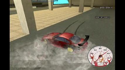 Explosive non stop drift