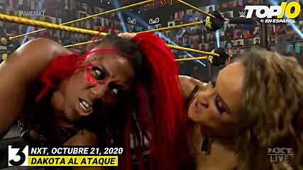 Top 10 Mejores Momentos de NXT En Español: WWE Top 10, Oct 21, 2020