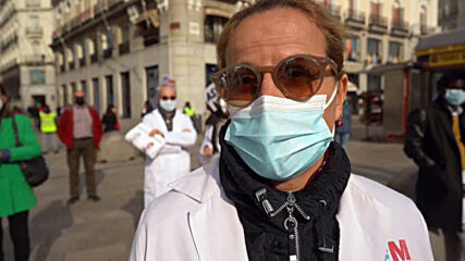 Spain: Doctors continue monthly strikes in Madrid over working conditions