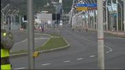 Много полиция преди Франция – Хондурас