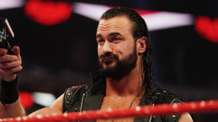 Drew McIntyre chooses to face Brock Lesnar at WrestleMania: Raw, Jan. 27, 2020