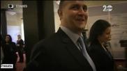 Стажанта посреща новите министри и изпраща старите. - ДикOFF (09.11.2014)