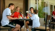 Реклама на Nutella с Neuer, Ozil, Hummels и Howedes