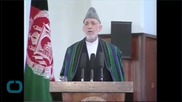 Afghan President in U.S. to Visit Obama
