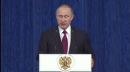 Russia: Putin praises EMERCOM workers on 25th anniversary of its formation