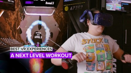 Best VR Experiences: The world's first virtual reality gym