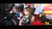 Miley Cyrus Sounbytes at Bolt World Premiere