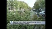 """Бурята """"Свети Юда"""" продължава да вилнее в Северозападна Европа"""