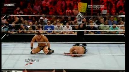 The Miz vs John Cena For The Wwe Championship