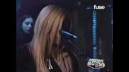 Avril - Nobodys Home (live)
