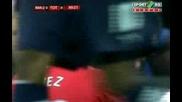 01.03 Манчестър Юнайтед - Тотнъм 0:0 Пропуск На Карлос Тевес ! Карлинг Къп Финал