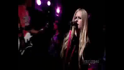 Avril - The Best Damn Thing LIVE VIDEO