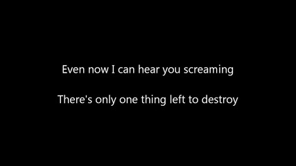 Disturbed - Sacrifice (текст + Превод)