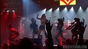 Страхотно шоу ! Майли разтресе сцената ! Miley- I Love Rock n Roll
