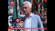 Протест на Пп Атака срещу изграждането на щаб на Нато в столицата