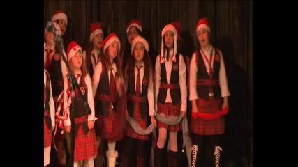 Музикален спектакъл Магия в коледната нощ с децата на Оу Христо Максимов гр Самоков