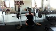 Тренировка за клек : цялата ми тренировка с клекове и асистиращи упражнения.