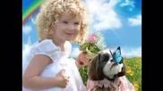 Споделете вашата усмивка -песня Улыбка из мультфильма Крошка Енот
