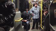 Баба в автобус